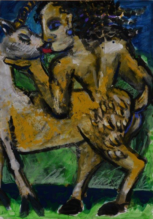 Malerischer Zyklus GILGAMESCH