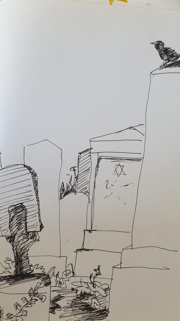 Zyklus Jüdischer Friedhof
